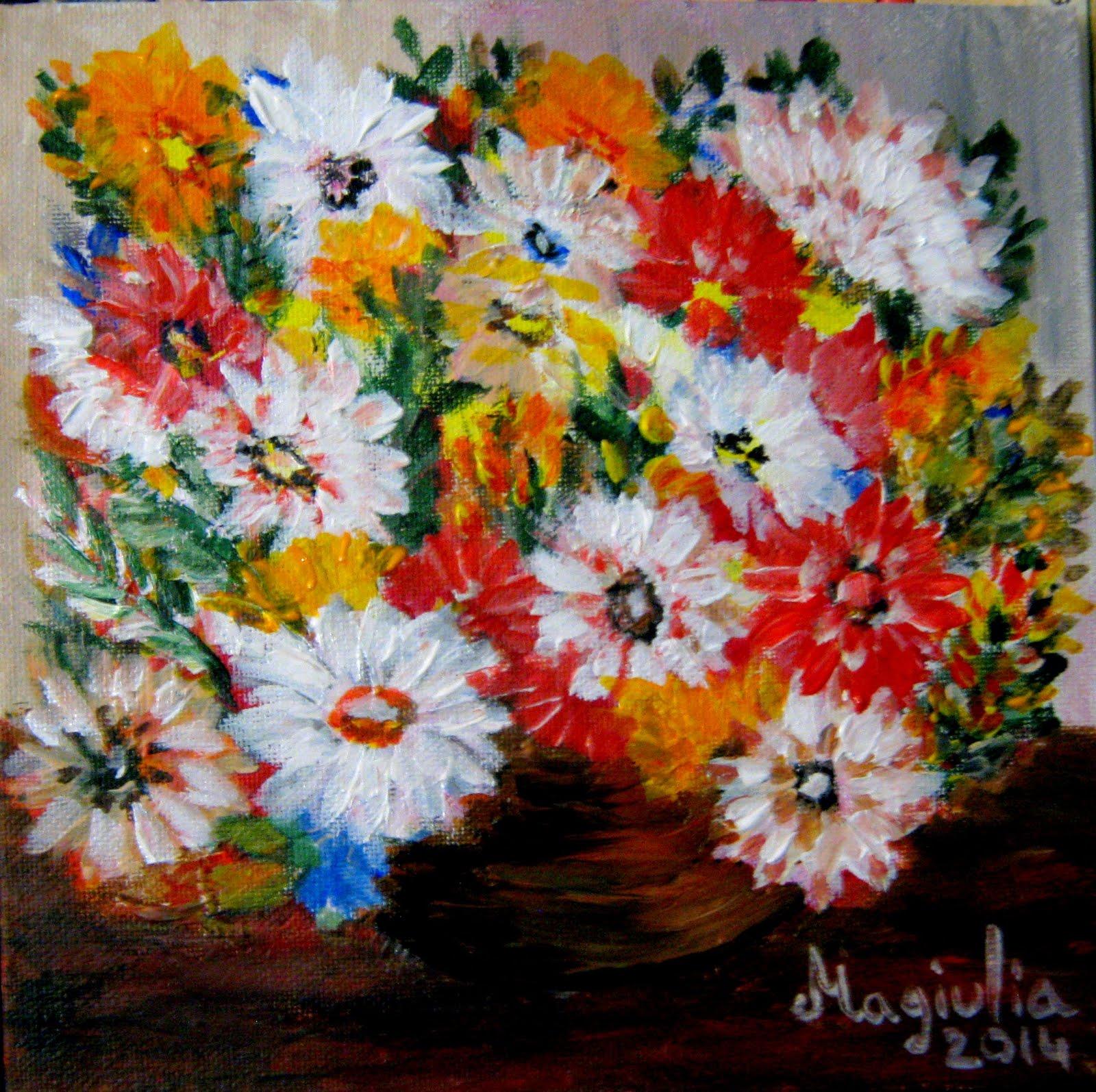 Culori (acrilic/panza) - creatie personala