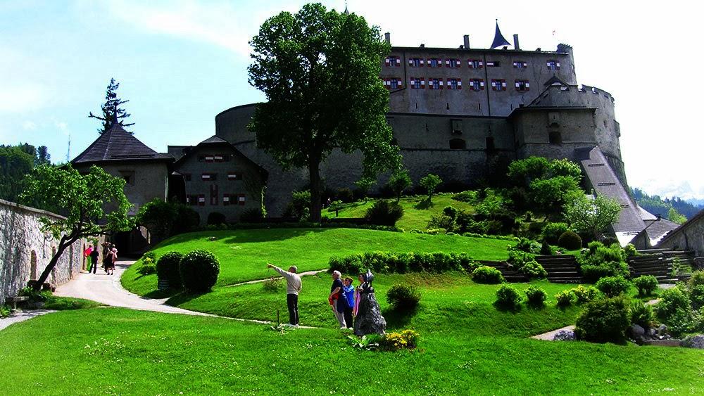 Hohenwerfen Castle Tour Austria Europe Beautiful Traveling Places