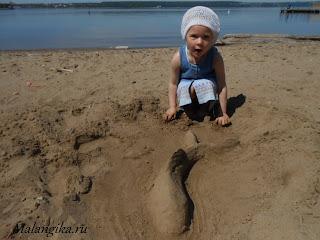 песчаные поделки
