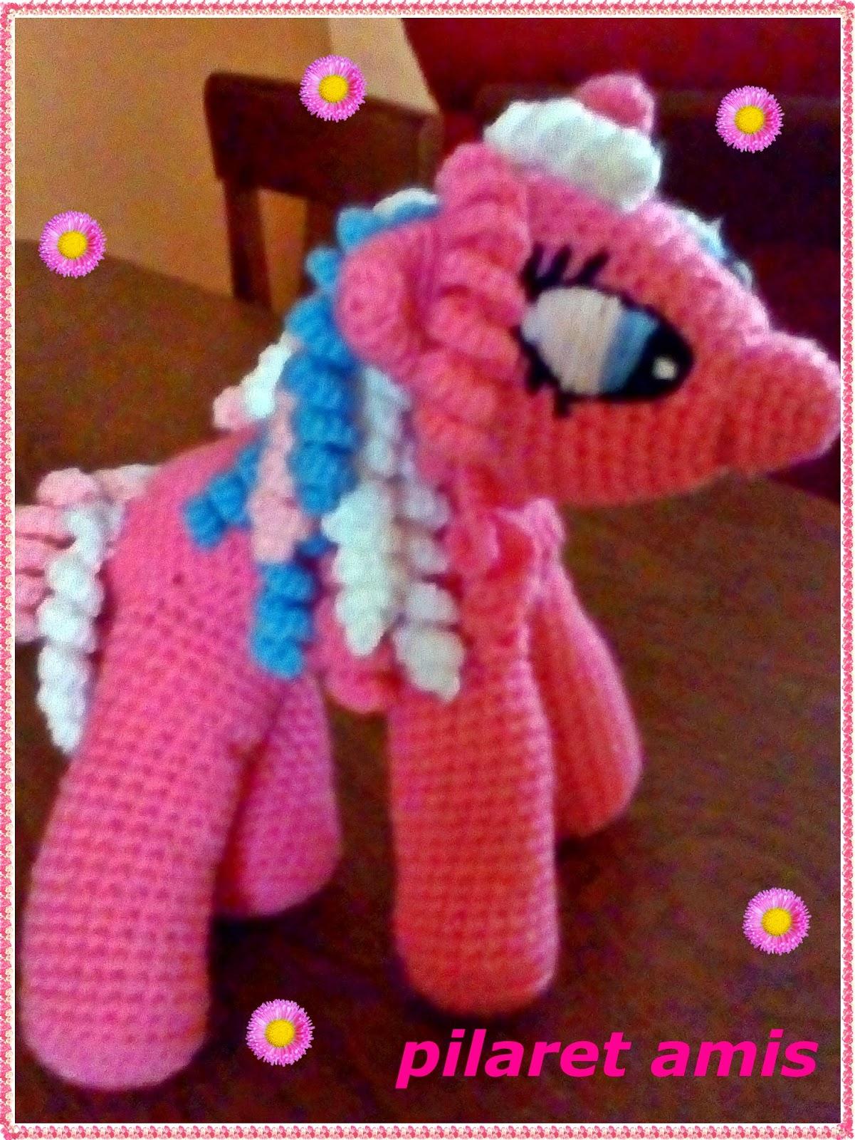 Amigurumi Pequeno Pony : PILARET AMIS : MI PEQUEnO PONY