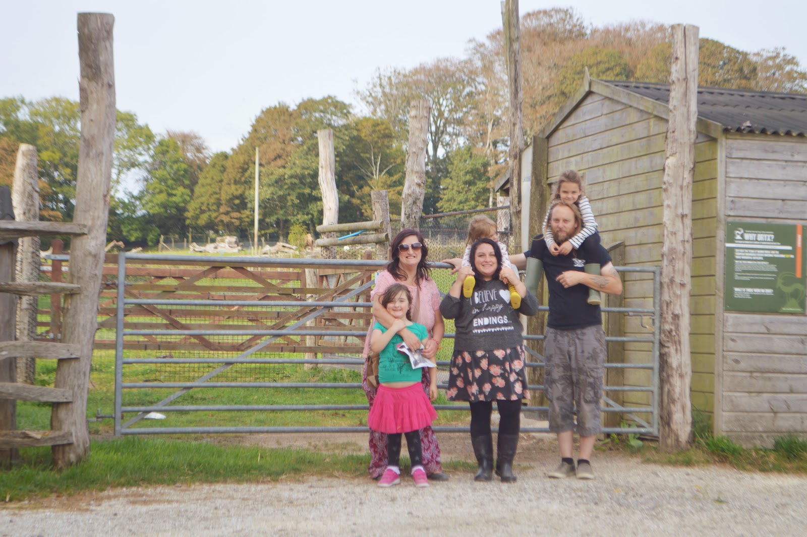 Caitlyn's 6th Birthday Manor Park Anna's Welsh Zoo Pembrokeshire Wales
