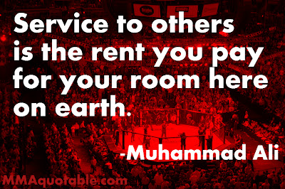 Muhammad Ali Quote About Service to Others