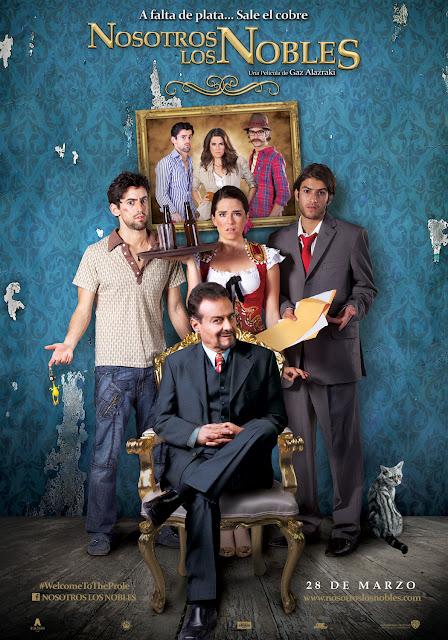 Nosotros Los Nobles (2013) DVDRip Esp Lat FS,BS,RG