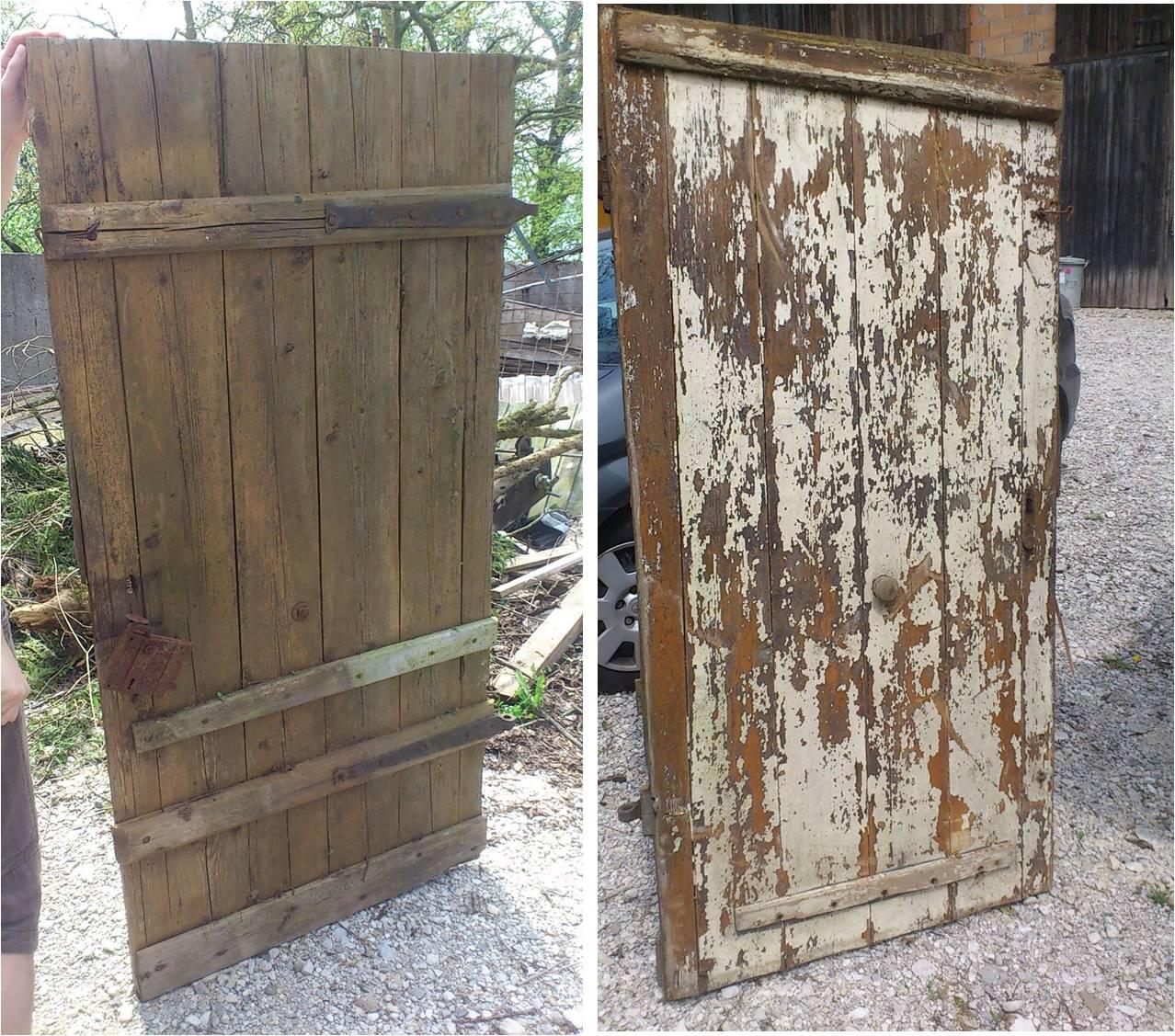 DIY: Selbstgemachter Couchtisch aus einer alten Holztüre - WOHN ...