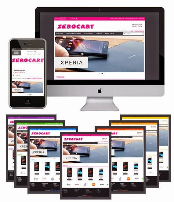 Zerocart - Free Opencart Theme