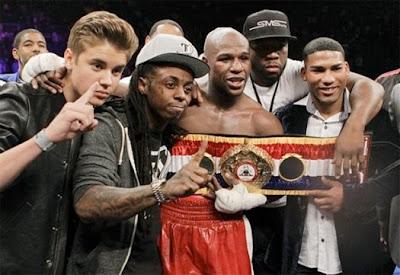 Lil Wayne, Justin Bieber & 50 Cent