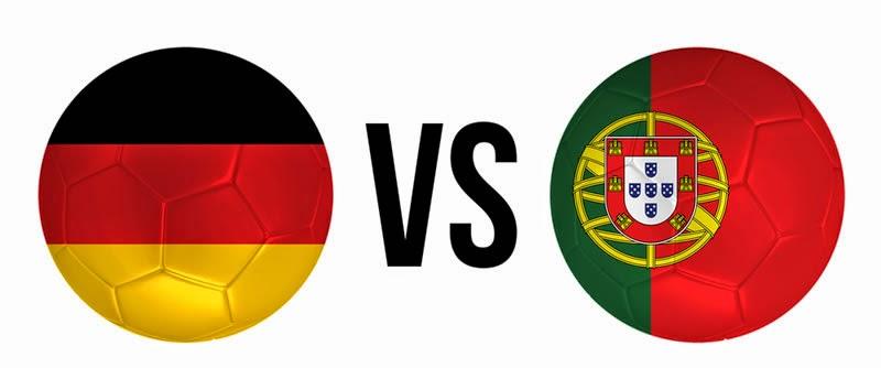 Alemania 4 - 0 Portugal. Grupo G.