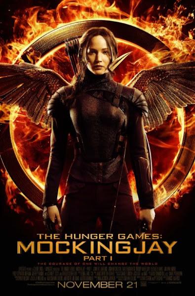 Poster Of The Hunger Games Mockingjay Part 1 (2014) 720p Hindi BRRip Dual Audio
