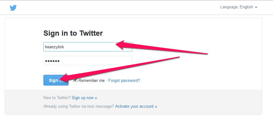 sign in menggunakan user/email dan password