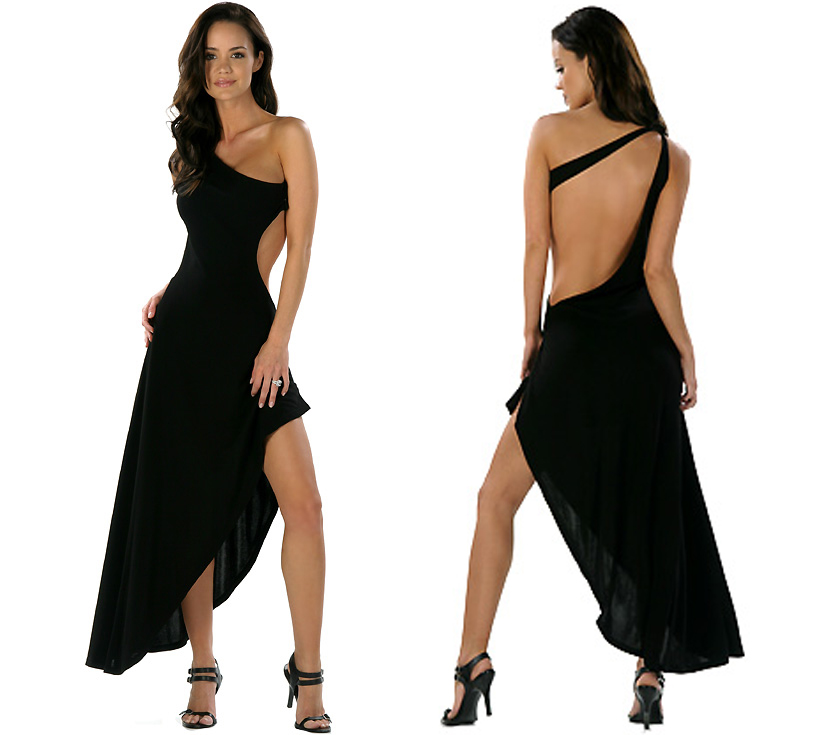Sexy Black Backless Prom Dress : Dresses for Every Occasion