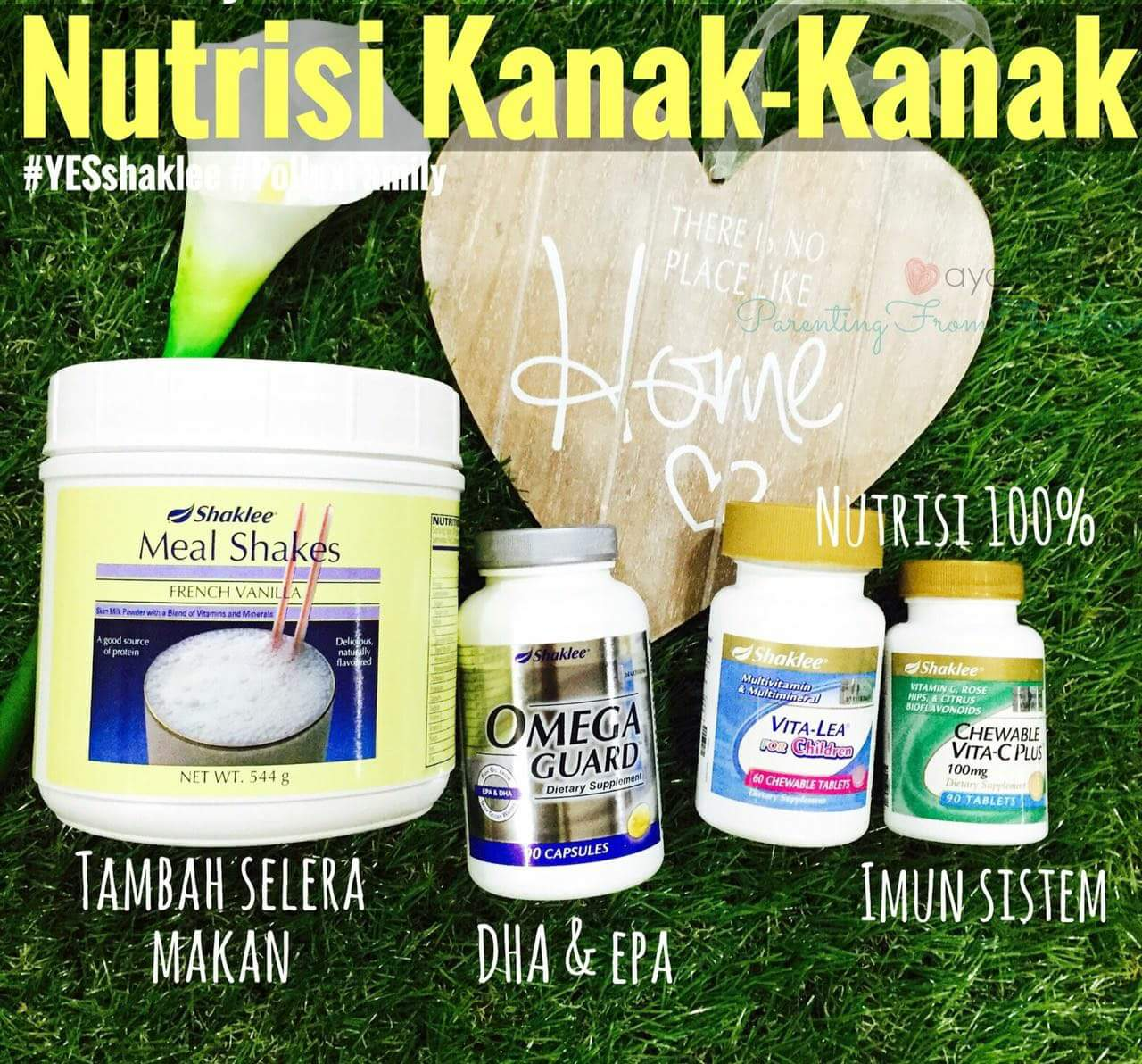 Set Nutrisi Kanak-Kanak