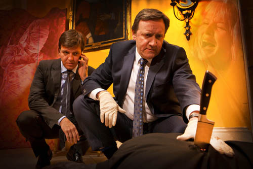 Neil Dudgeon as DCI John Barnaby and Jason Hughes as DS Ben Jones