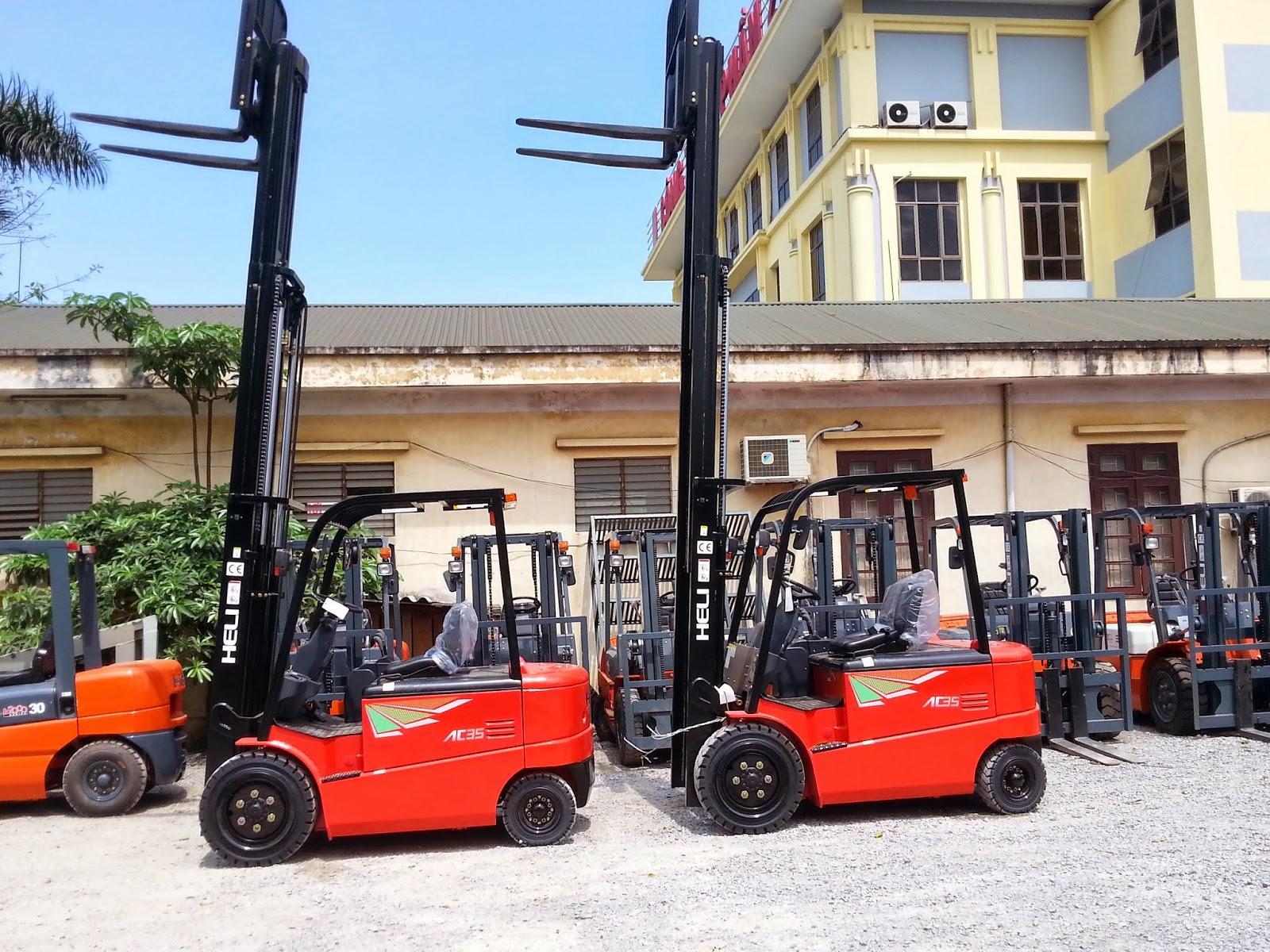 Xe nâng hàng tại Việt Nam
