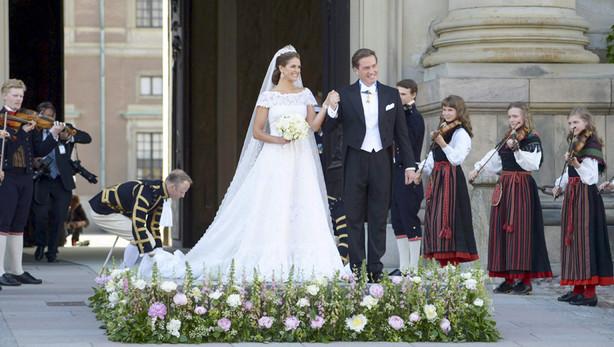 Magdalena de Suecia y Christopher O´Neill, ya convertidos en marido y mujer