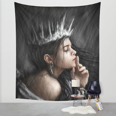 Wall tapestry from Society6