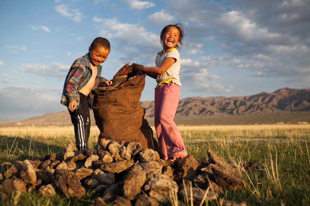 Crianças nômades