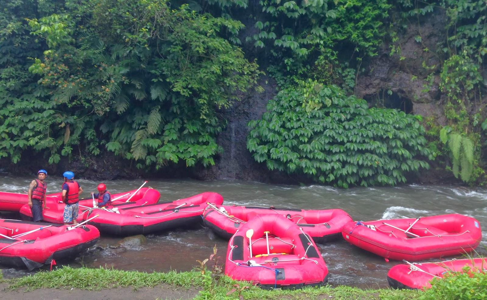 white water rafting bali indonesia