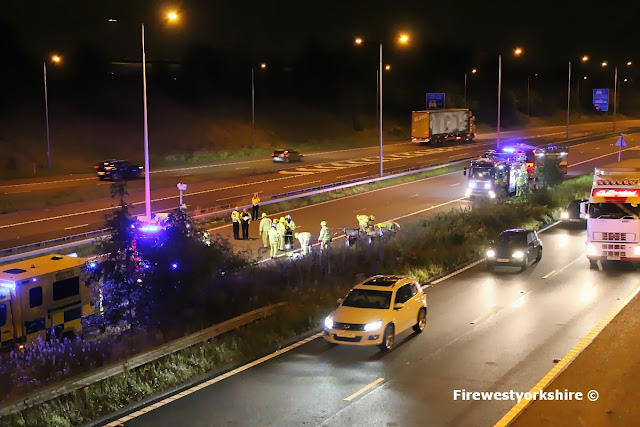 Car crash M606, Road Traffic Collision M606
