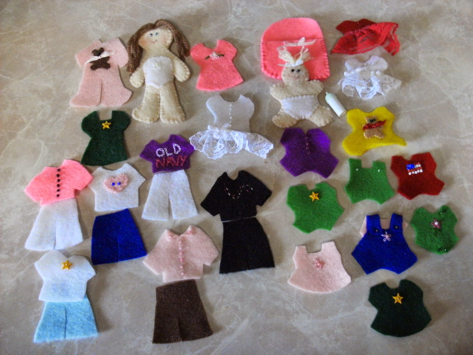 It is a graphic of Monster Free Printable Felt Doll Patterns