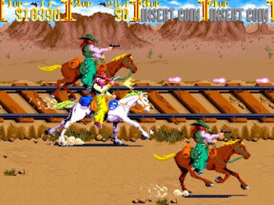 街機:荒野大鏢客(落日騎士、西部牛仔)+作弊碼金手指,大型電玩賞金獵人射擊遊戲!