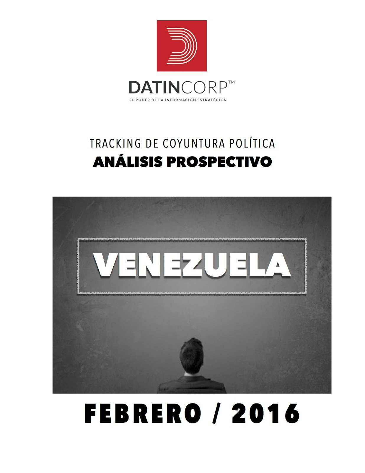 Tracking de Coyuntura Política DatinCorp