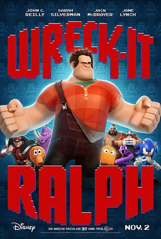 Wreck It Ralph 2012 720p x264 Esub BluRay  Dual Audio English Hindi GOPISAHI