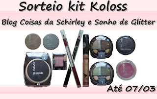 SORTEIO NO BLOG!