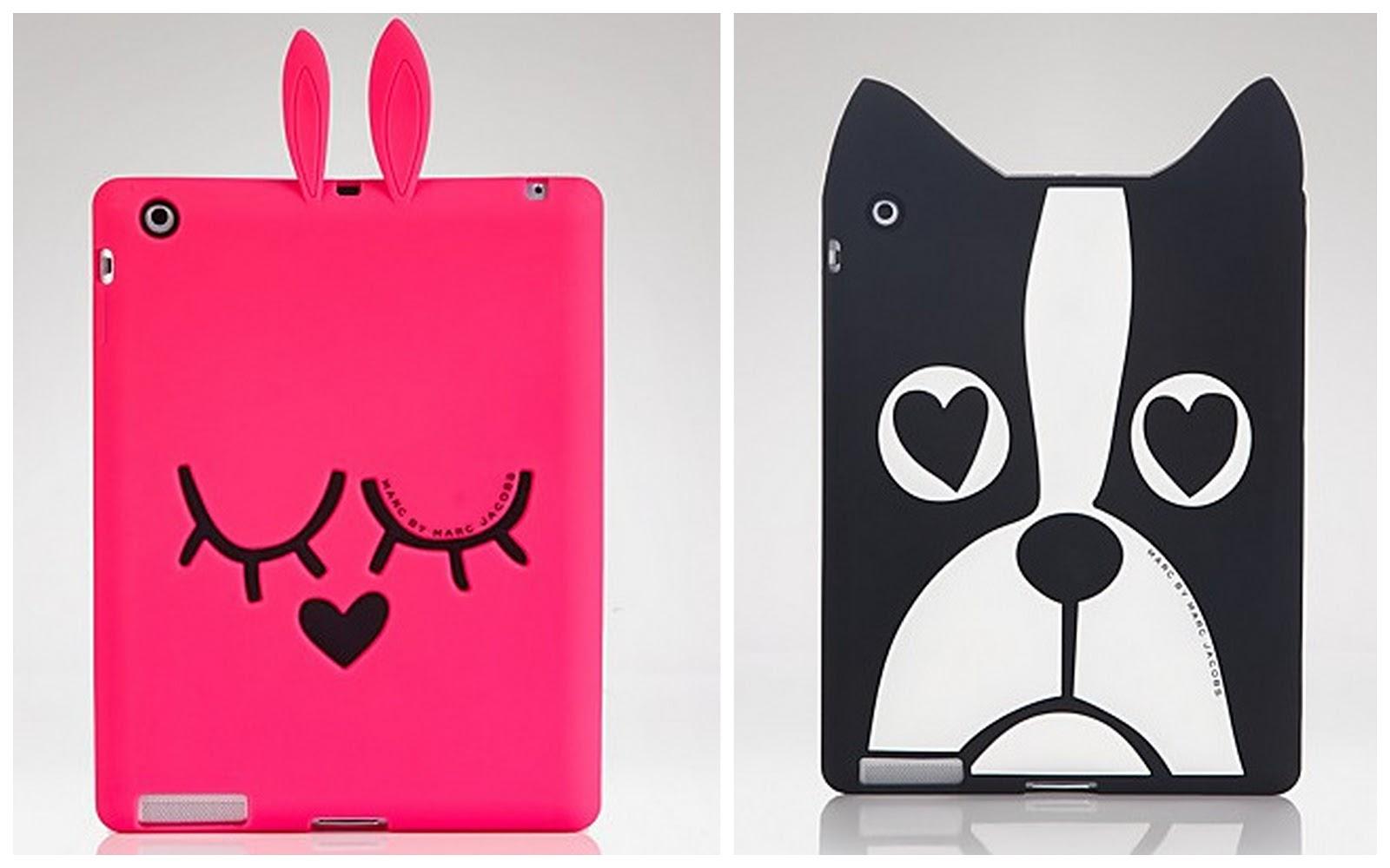 Glacu00ea do Bolo: Marc By Marc Jacobs lanu00e7a capa para tablets e iPad