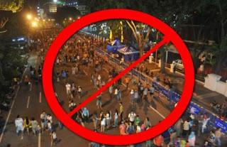 Tahun Baru 2016, Surabaya Gak Ada Car Free Night