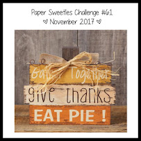 Paper Sweeties November Inspiration Challenge #61