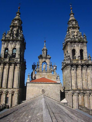 Bell Towers of the Cathedral of Santiago de Compostela