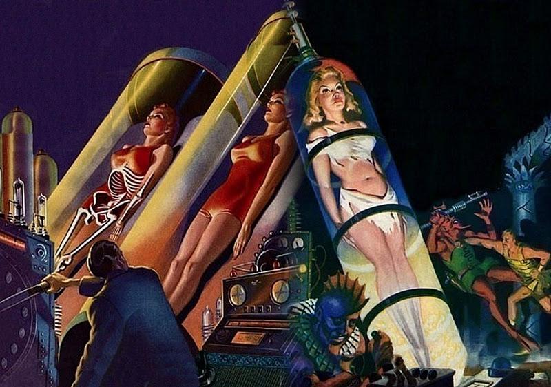 women in tubes scifi