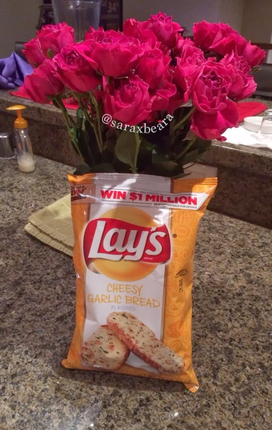 Roses and Lays Chips