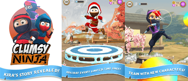 Download Clumsy Ninja v1.19.1 Apk Mod + Data 1