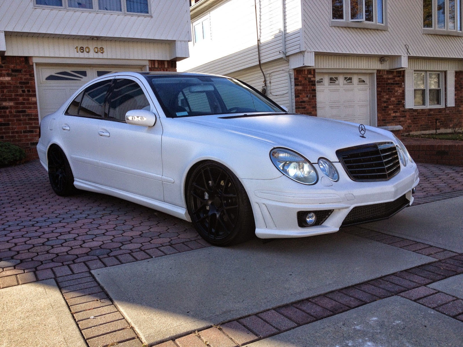 Mercedes benz e320 w211 e63 amg look benztuning for E320 mercedes benz