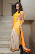 Nanditha raj latest photos in half saree-thumbnail-1