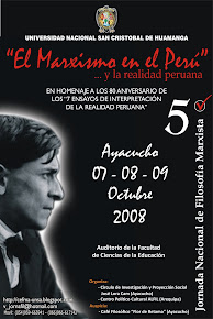 V JORNADA NACIONAL DE FILOSOFÍA MARXISTA