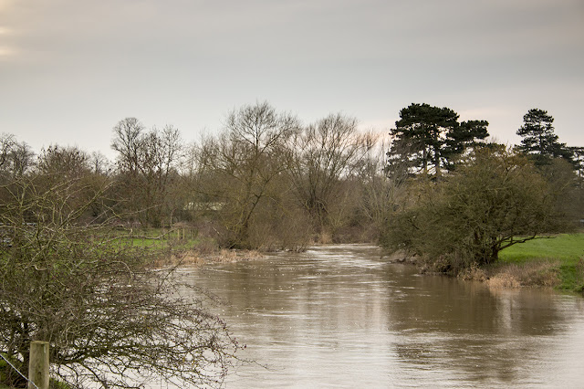River Ouse Looking very Full
