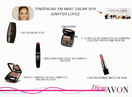 A Beleza do Oscar 2015 - Sugestões de Make