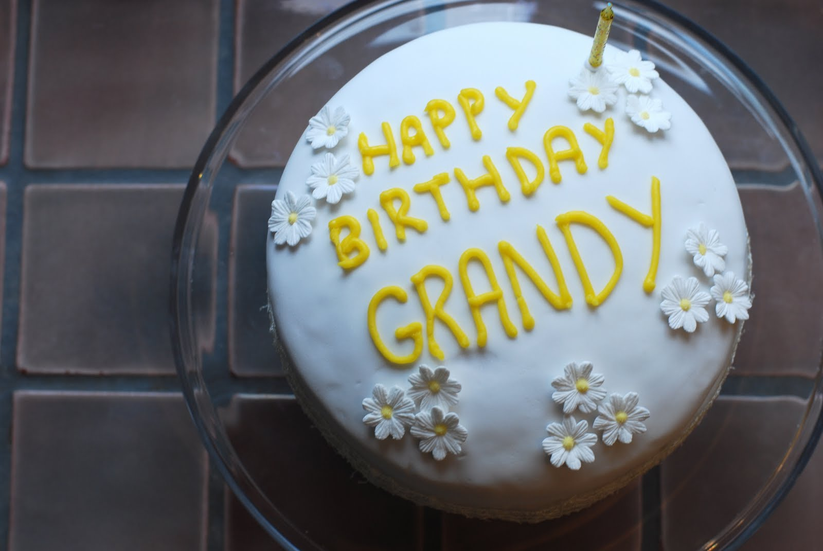 Afternoon Crumbs Happy Birthday Grandy