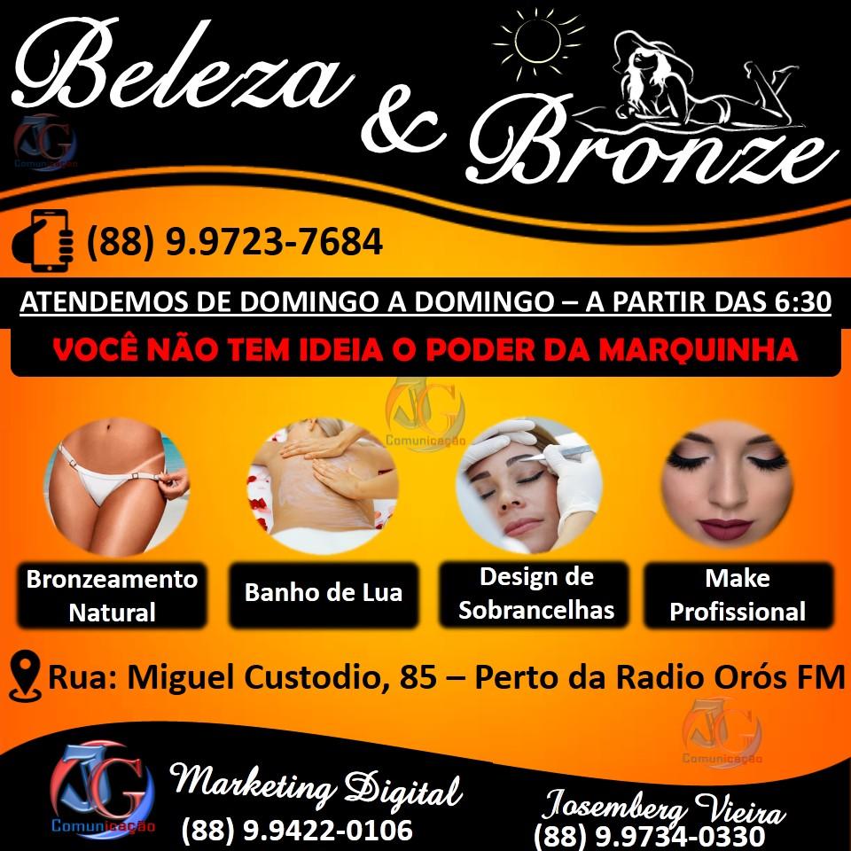 BELEZA & BRONZE EM ORÓS