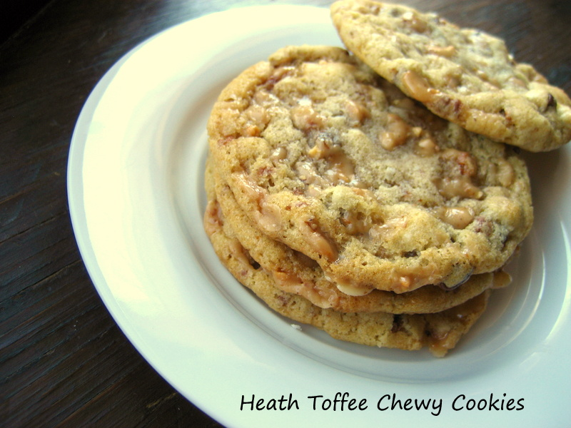 ... : Heath Toffee Bar Cookies (Or Almond Brittle Cookies)... Sweet #9