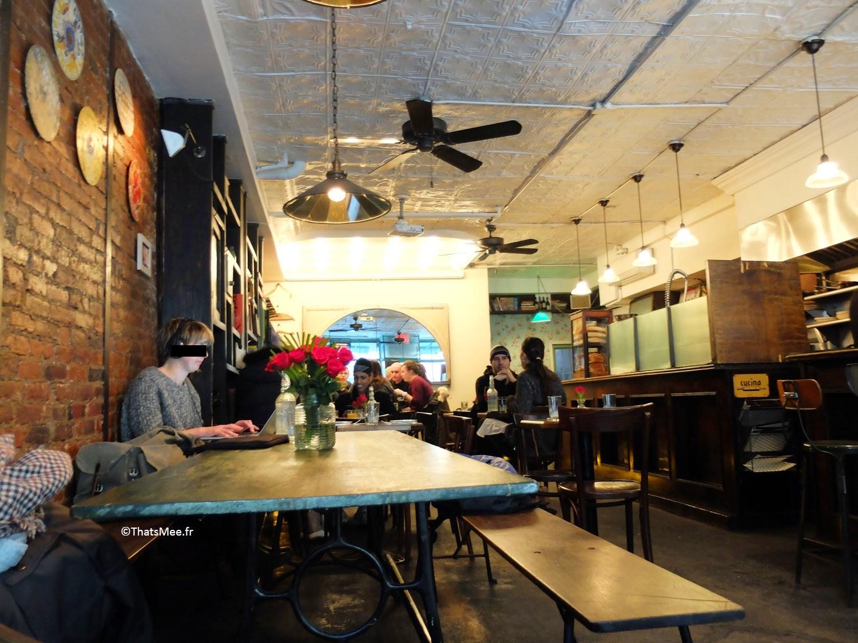 Café Epistrophy Mott Street Soho New-York