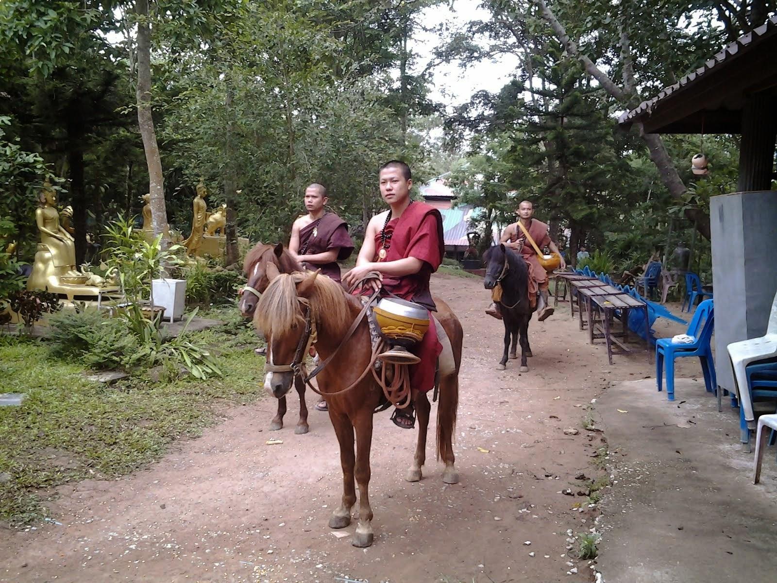 horseman monk...
