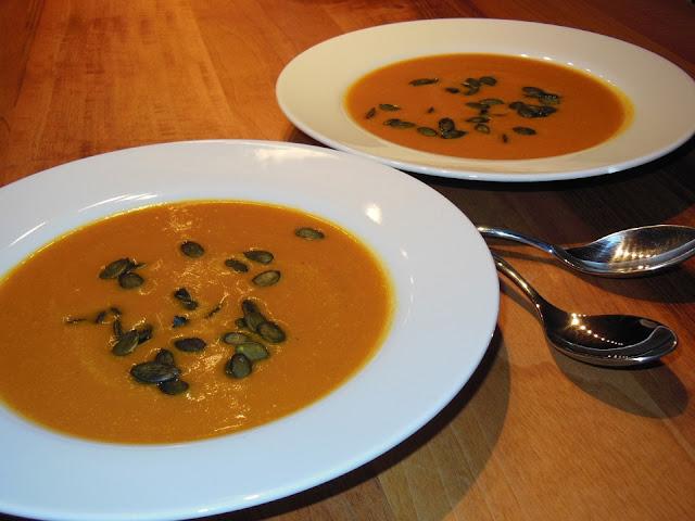 faire une soupe de potimarron