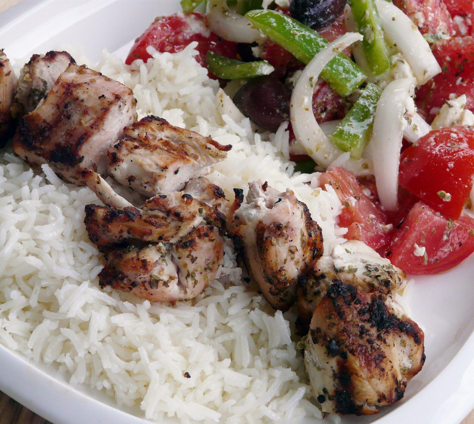 Chicken Souvlaki Recipe — Dishmaps