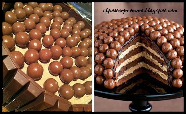 postres de chocolates deliciosos y fáciles de preparar
