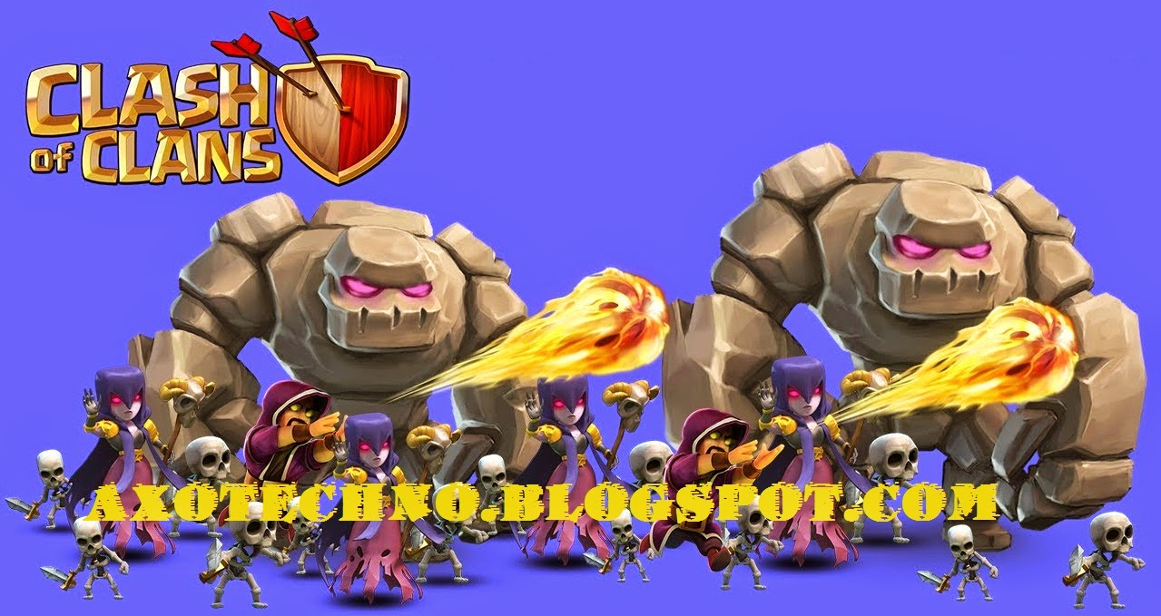 Strategi GoWiWi di Clash of Clans