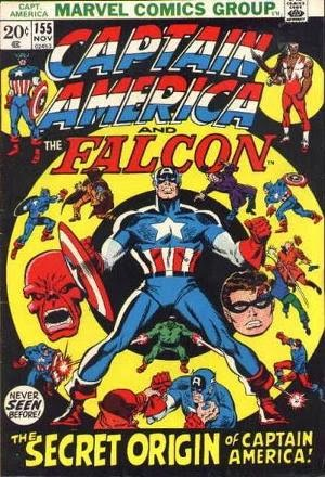 Captain America #155 comic book