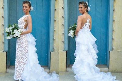 vestido de noiva grazi massafera